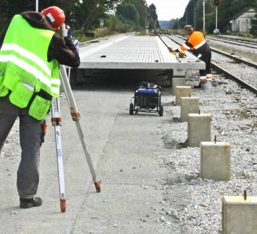 Making passenger platforms comply with EU height requirements