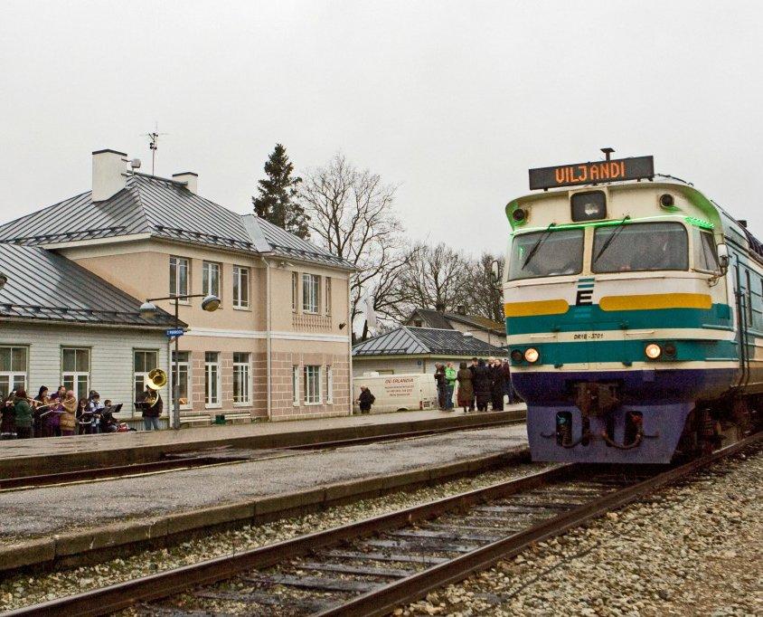 Türin ja Viljandin välisen rautatieosuuden peruskorjaus