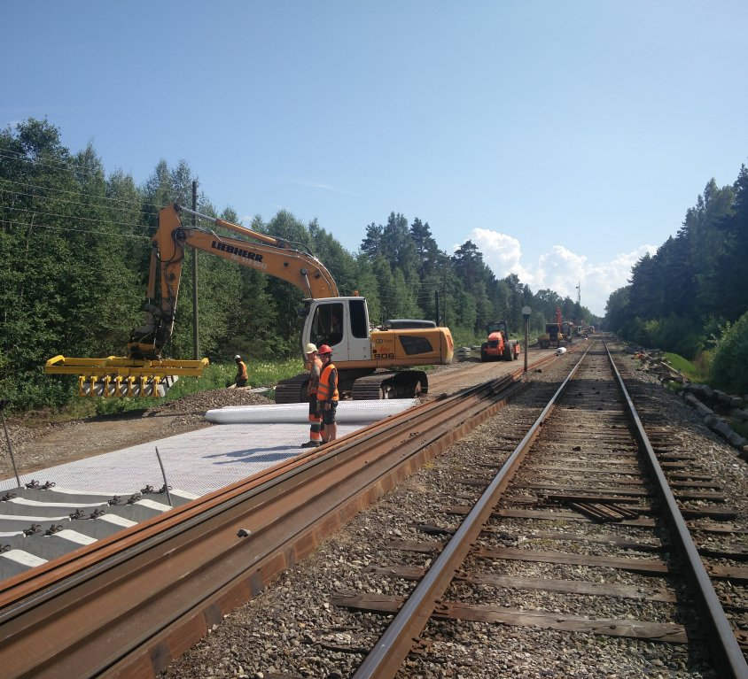 Railway repair works on Tallinn-Rapla route