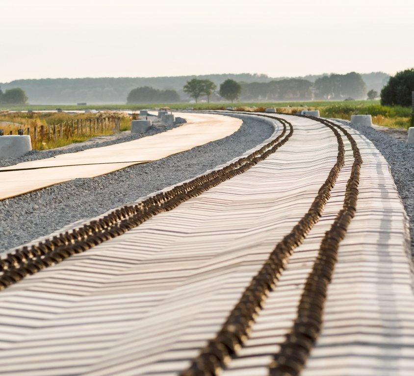 Turu-Helsingi raudteelõigu rööbaste vahetus