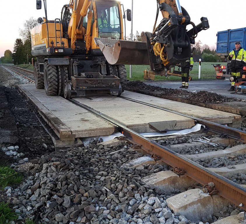 Railway repair works on Türi-Viljandi route
